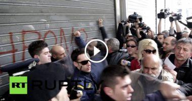 In Grecia preso d'assalto anche il Ministero delle finanze