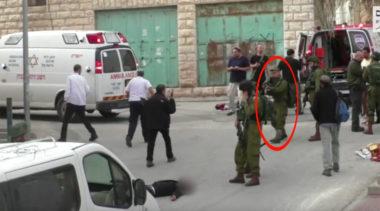 Hebron: soldato israeliano spara a un palestinese a terra e inoffensivo