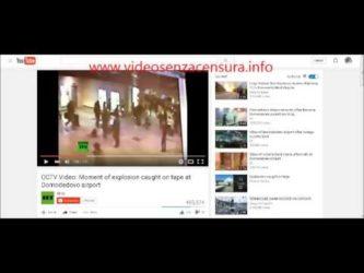 ATTENZIONE; il video dell'attentato è falso ! Le immagini si riferiscono al 2011