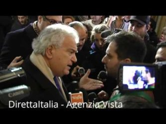 VERDINI LITIGA CON GIORNALISTA. VIDEO