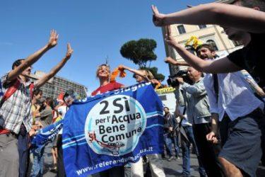 Privatizzazione dell'acqua, la polemica in tre punti
