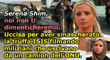Per non dimenticare: Serena Shim, la reporter uccisa perché aveva smascherato la truffa dell'ISIS !!