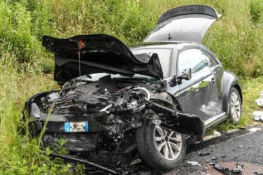 Buonanno morto nell'incidente a Gorla Maggiore: polizia sul luogo dello schianto – Il Giorno