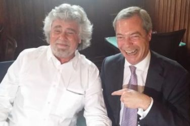 Brexit, Farage: se di Maio non è contrario «Io e Grillo distruggeremo la vecchia Europa»