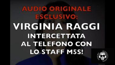 Read more about the article LA RAGGI INTERCETTATA AL TELEFONO CON LO STAFF DEL M5S!