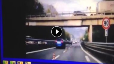 VIDEO: SS36, il momento esatto del crollo del Ponte