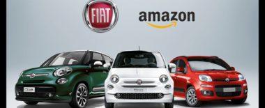 Fiat, accordo con Amazon. Ora la 500 si compra con un uno sconto del 30%