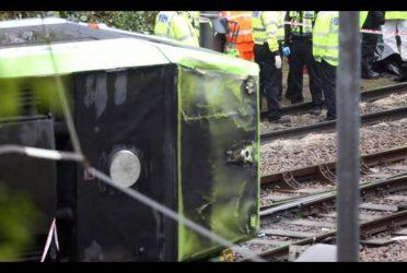Tram deraglia a Londra: 7  morti e 40 feriti. In manette l'autista