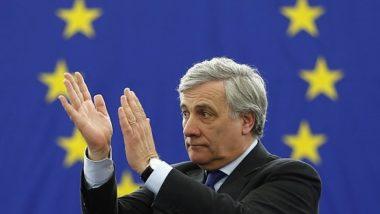 Ue, Tajani eletto presidente del Parlamento europeo.