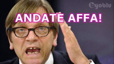 """colpo di scena ; ALDE rinuncia all'accordo con il movimento 5 stelle : """" troppe divergenze"""" ."""