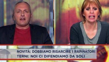 Mussolini massacrata per la storia del marito con le baby squillo