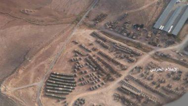 Imminente l'invasione di terra ; USA e Giordania ammassano centinaia di mezzi corazzati al confine con la Siria.