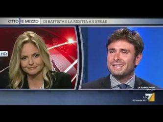 """Di Battista: """"Vaccinerò mio figlio, così vediamo se credete a Renzi!"""""""