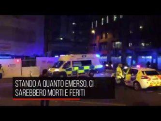 Manchester Arena, esplosione dopo concerto: morti e feriti (video)