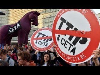 Gentiloni approva il CETA : Un altro pezzo della nostra sovranità scompare. il tutto nel silenzio dei media