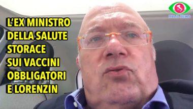 STORACE – VACCINI: SOLO IN ITALIA SI OBBLIGANO I BAMBINI A FARE 12 VACCINI