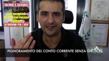 EQUITALIA 1 LUGLIO PIGNORAMENTO CONTO CORRENTE (video)