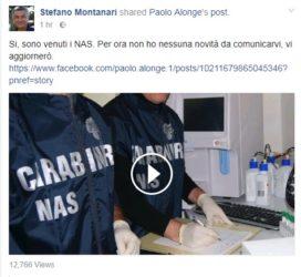 Perquisizione:   Chi ha mandato i NAS nel laboratorio di Stefano Montari ?