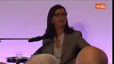 Dichiarazione Laura Boldrini da far rabbrividire – Video Dailymotion