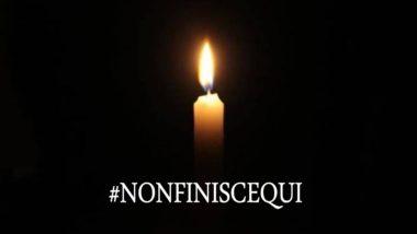 VENERDI 28 LUGLIO : IMPORTANTE INIZIATIVA #NONFINISCEQUI
