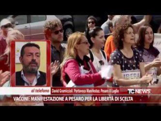 Vaccini: in 100 mila alla manifestazione di Pesaro per la libertà di scelta