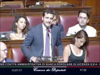 LE BANCHE DETTANO IL GOVERNO ESEGUE – CARLO SIBILIA (M5S) – 85 miliardi di euro regalati