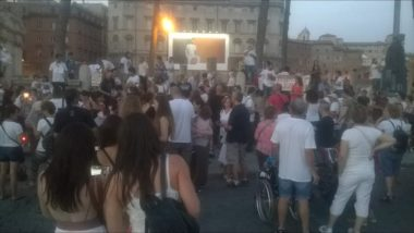 VACCINI : FIACCOLATA A ROMA 24-6-2017