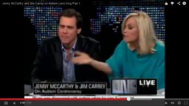 Jim Carrey e la delirante politica dei vaccini