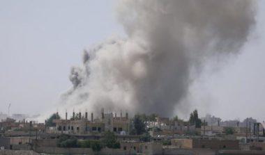 A Raqqa gli americani fanno una strage e dicono che erano scudi umani … bambini