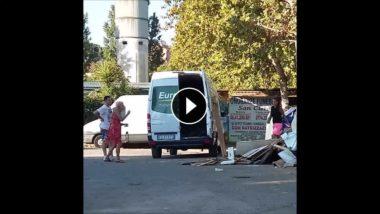 VIDEO: Roma, Piazza Urbania: scarico abusivo rifiuti ingombranti