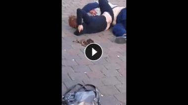 VIDEO: RegnoUnito, lite tra fidanzati ubriachi in pieno giorno