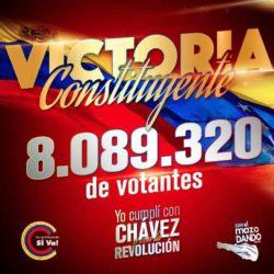 La dittatura di oltre 8 milioni di venezuelani al voto per la Costituente. Dura sconfitta per il golpismo