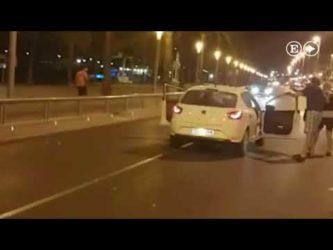 Video sconvolgente ; presunto terrorista disarmato ucciso in spagna