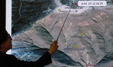 Corea del Nord : test atomico provoca terremoto del 6.3. Altro sisma del 4.6 poco dopo