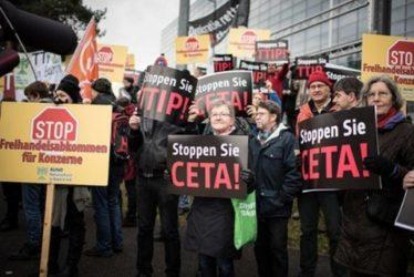 ATTENZIONE AL CETA: l'accordo può sconfiggere la democrazia in Europa…