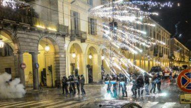G7, guerriglia a Torino: assalto di notte . Scontri e feriti in centro, isolata piazza Carlina