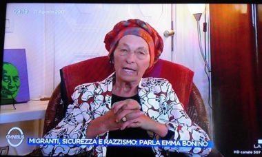 """EMMA BONINO : """"IMPERATIVO INTEGRARE E DARE LAVORO A 500.000 MIGRANTI presenti in Italia """""""