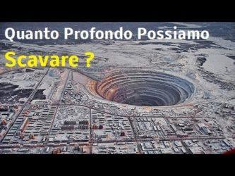Read more about the article Curiosita' : Quant'è la più PROFONDA BUCA che potremmo SCAVARE ?