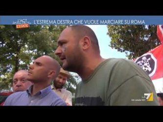 L'estrema destra che vuole marciare su Roma …