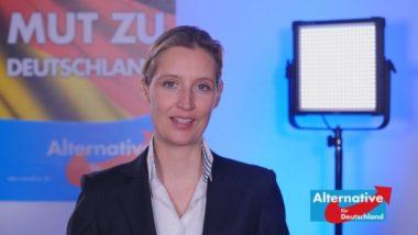 AfD partito nazista ? Guardate la biografia del suo leader, Alice Weidel. Il problema è che AfD dice cose che vanno contro gli interessi dei globalisti!