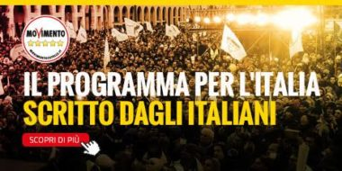 Info utili per la prima giornata di #Italia5Stelle: indirizzo e orari di oggi