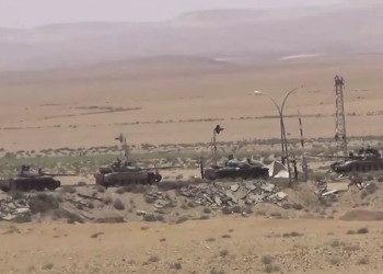 Assad prepara l'assalto finale ; colonna di carri armati
