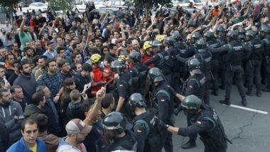 Referendum Catalogna : dopo la vittoria del sì , mega sciopero generale