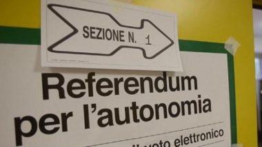 Referendum autonomia, vince il Sì !Che cosa succede ora in Veneto e Lombardia