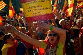 Catalogna ad un passo dalla guerra civile , domani riunione cruciale del Parlamento di Barcellona