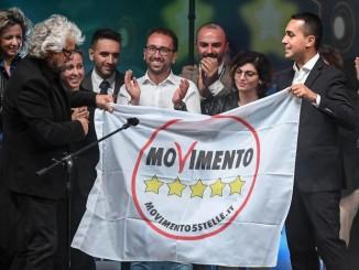Five Stars Moviment meeting 'Italia 5 Stelle'