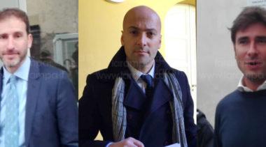 Casaleggio e Di Battista al Tribunale Napoli