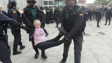Il giorno dell'indipendenza catalana : i video che dimostrano la repressione violenta del governo