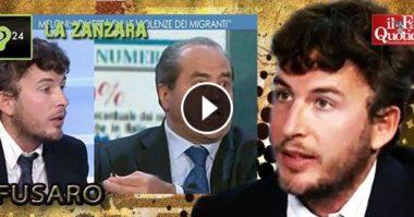 """""""Di Pietro dietro le quinte ha avuto un malore ed è crollato a terra dopo la nostra discussione"""" – Diego Fusaro"""