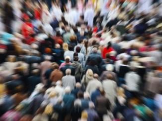 4011667 - people blurred